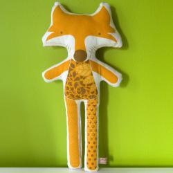 printed soft toy - Maria the fox
